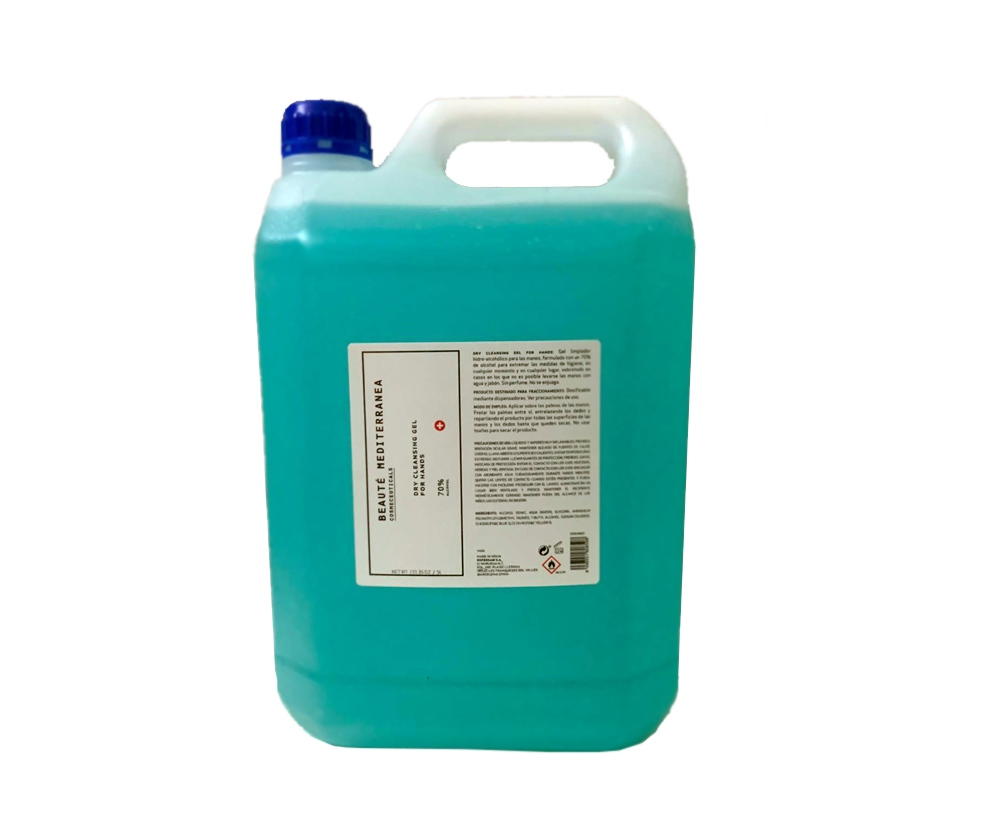 COVID bidón gel hidroalcohólico